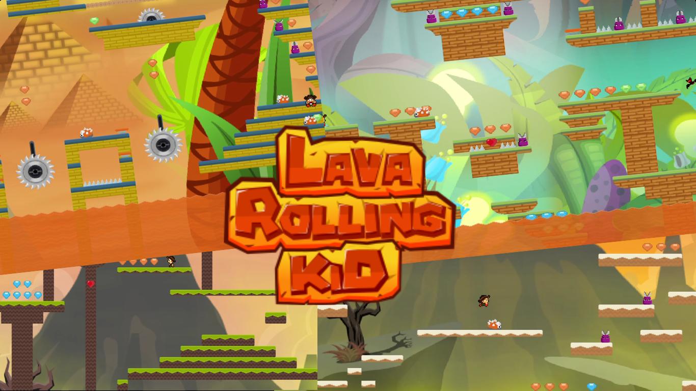 LavaRollingKid PC VideoGame