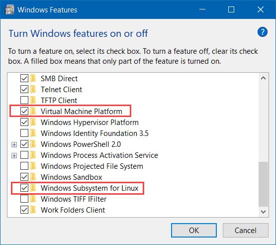 Instalar WSL en Windows 10